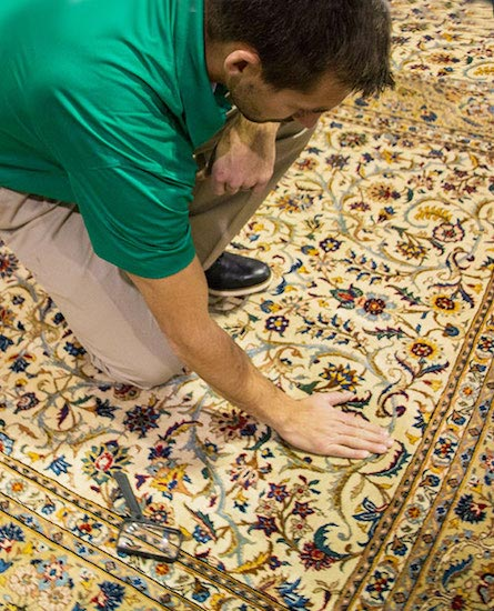 Professional Area and Oriental Rug Cleaning by Clawson Chem-Dry in Severn & Odenton