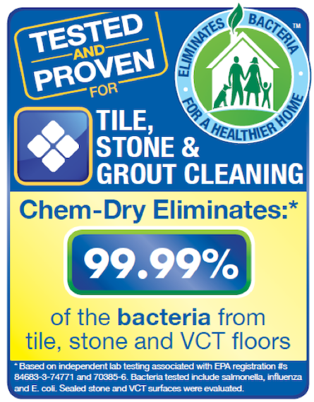 Clawson Chem-Dry Technician Performing Tile & Grout Cleaning Service